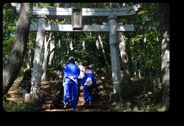 浅間神社へ